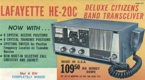 The CB radio boom was on its way!