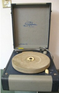 Vintage Symphonic Portable Record Player