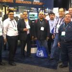 Grupo de Ingenieros Mexicanos en la presentacion de Nautel sobre DRM.