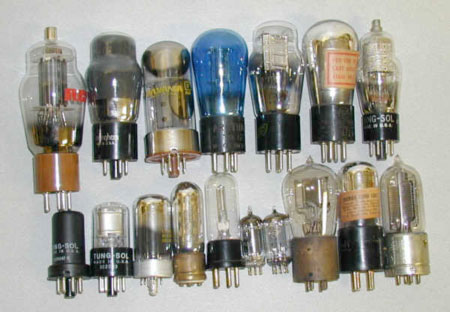 Vacuum Tubes in All Shapes and Sizes Were Used in 1960