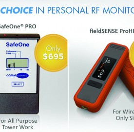 Choices in personal RF safety EMF meters