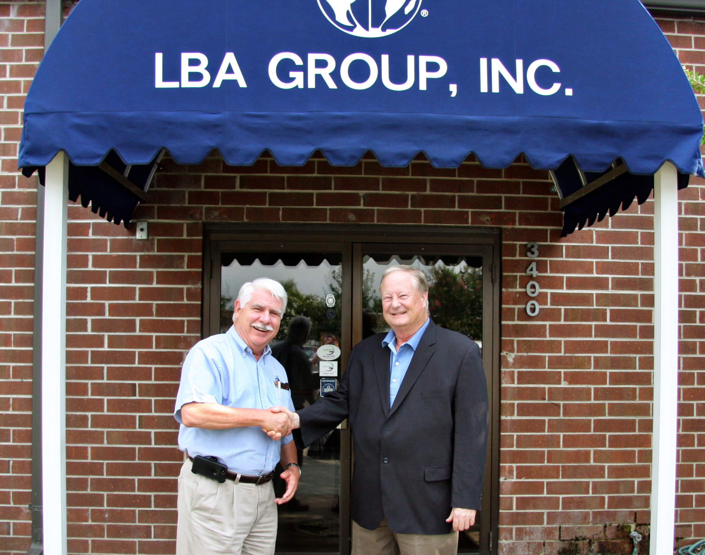 CEO Lawrence Behr welcomes Mark Fehlig to LBA