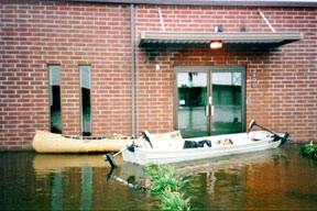 "The ""LBA Navy"" was used to access HQ during the 1999 flood"