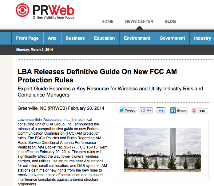 LBA Releases Definitive Guide On New FCC AM Protection Rules