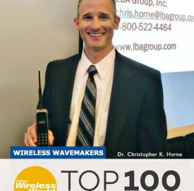 Chris Horne, LBA Group CTO, named one of the Top Wireless Export