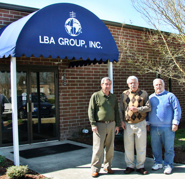 LBA's new COO, Mike Britner with CEO, Lawrence Behr & previous COO, Jerry Brown