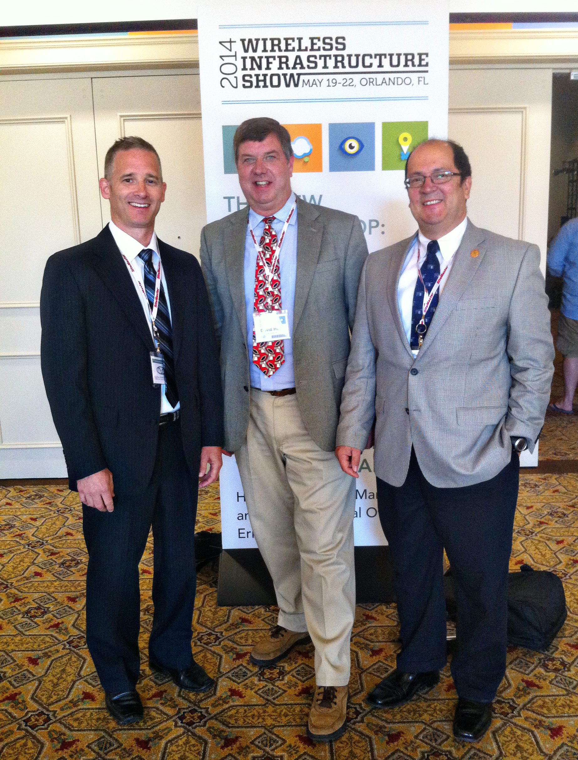 LBA's Chris Horne, David Horn & Alberto Blanco at PCIA 2014