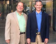 Dr. Chris Horne and Albert Blanco attend the NATE – AGL Washington, DC wireless symposium