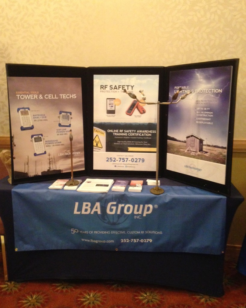 The LBA stand at the Workshop