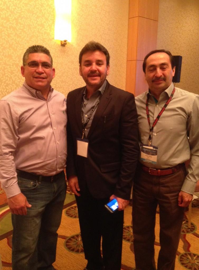 Jorge Dieguez, Gustavo Gaytan and David Salas at BD Workshop 2015