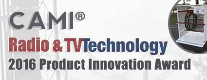 cami wins tv technology 2awards