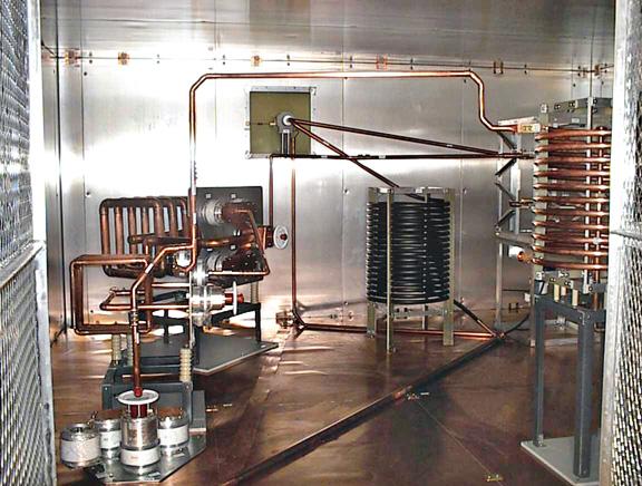 High Power ATU in LBA Prefabricated Building
