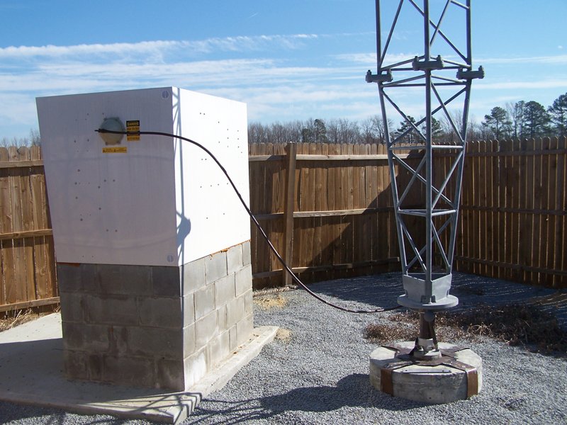 50,000 watt ATU in Weatherproof Enclosure