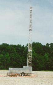 Figure 4. Complete View of Transportable MW Tower