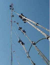 Guy Wires on AM towers