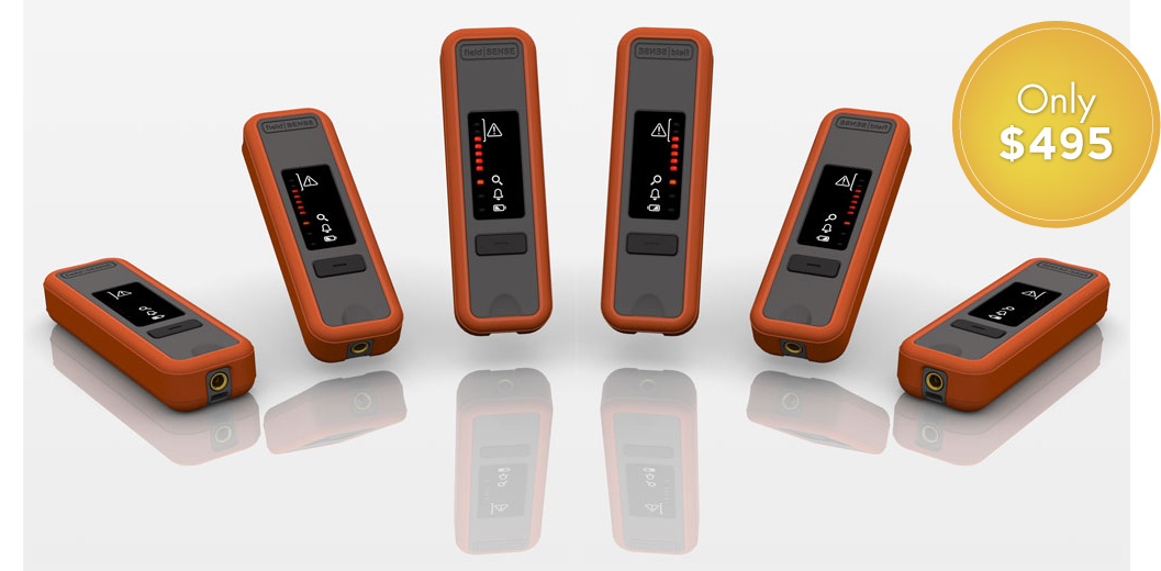 fieldSENSE ProHD Personal RF Safety Monitors for just $495