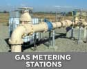 Use LBA lightning masts around Gas metering stations, pipeline installations, construction equipment