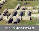 Use LBA lightning masts around Field hospitals, emergency camps, field installations