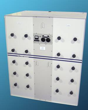 AM Directional Antenna Systems - 10 kw Phasing Unit