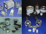 Coils, Vacuum Capacitors, Mica Capacitors,
