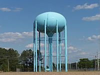 Water tanks may disrupt AM station coverage